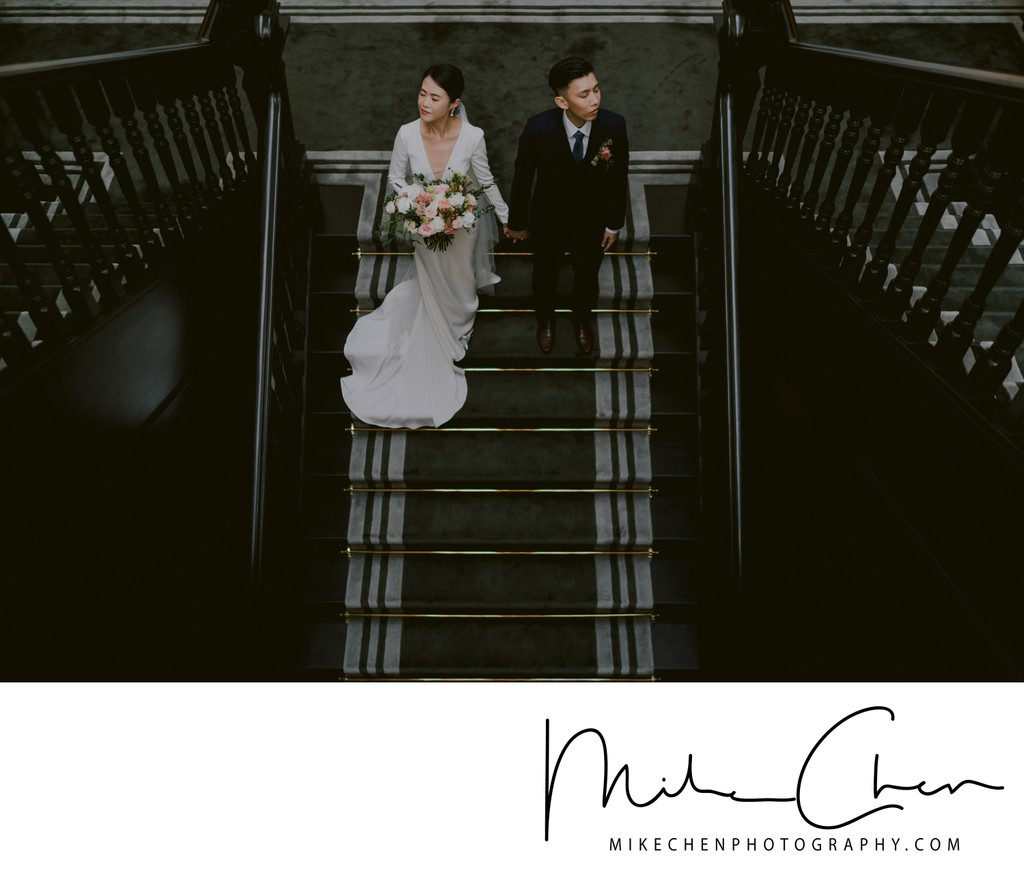 Raffles Hotel Wedding Photoshoot Singapore Photography