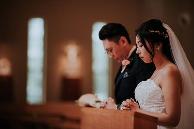 Best Church Wedding Photographer in Singapore