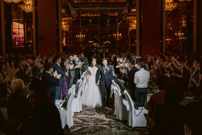 St Regis Hotel Wedding Singapore