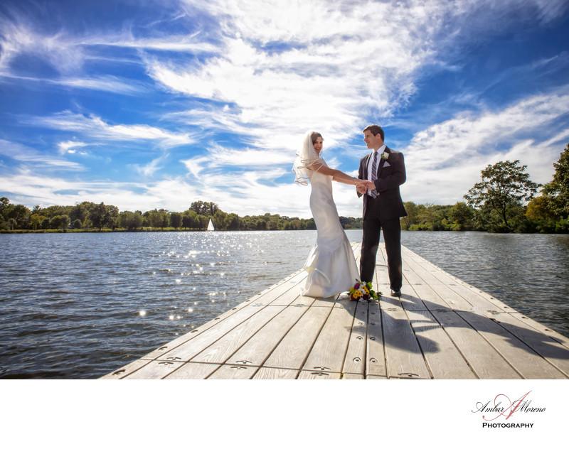 Pennsauken Wedding Photographer Camden County Boathouse