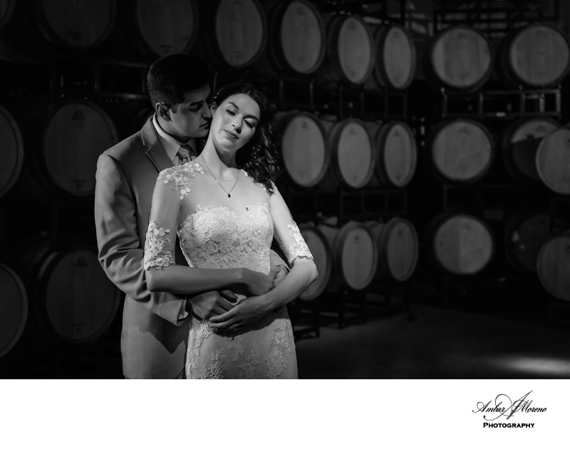 Valenzano Winery-Barrel Room Photography