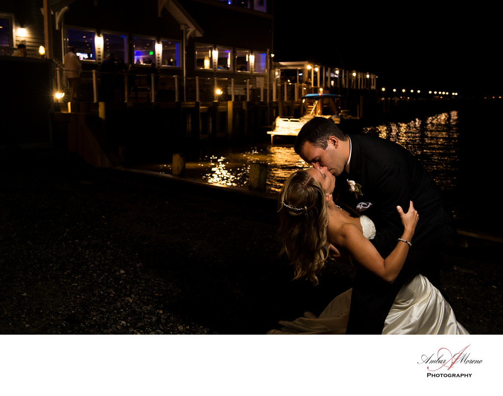 Waters Edge Wedding - Central Jersey Beach Front