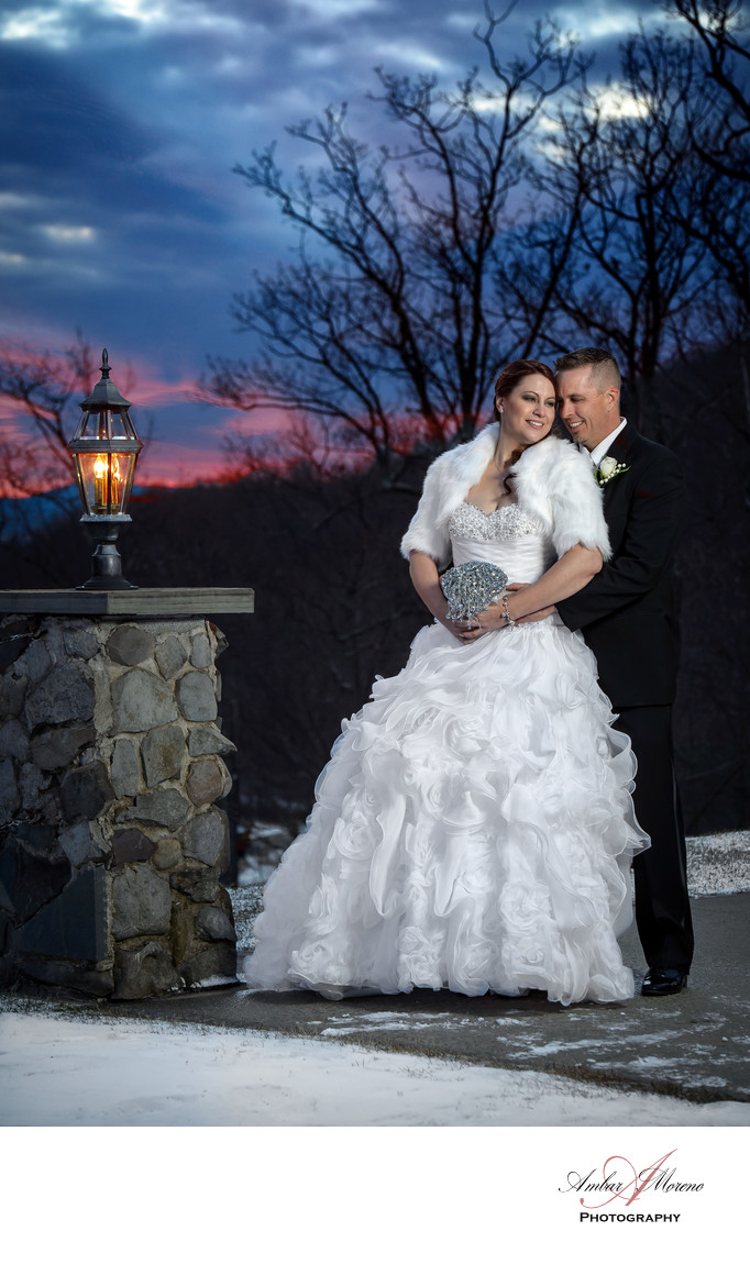 Sunset Wedding - Stroudsmoor Country Inn