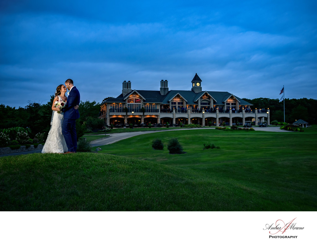 Scotland Run Country Club Wedding-Sunset-venue