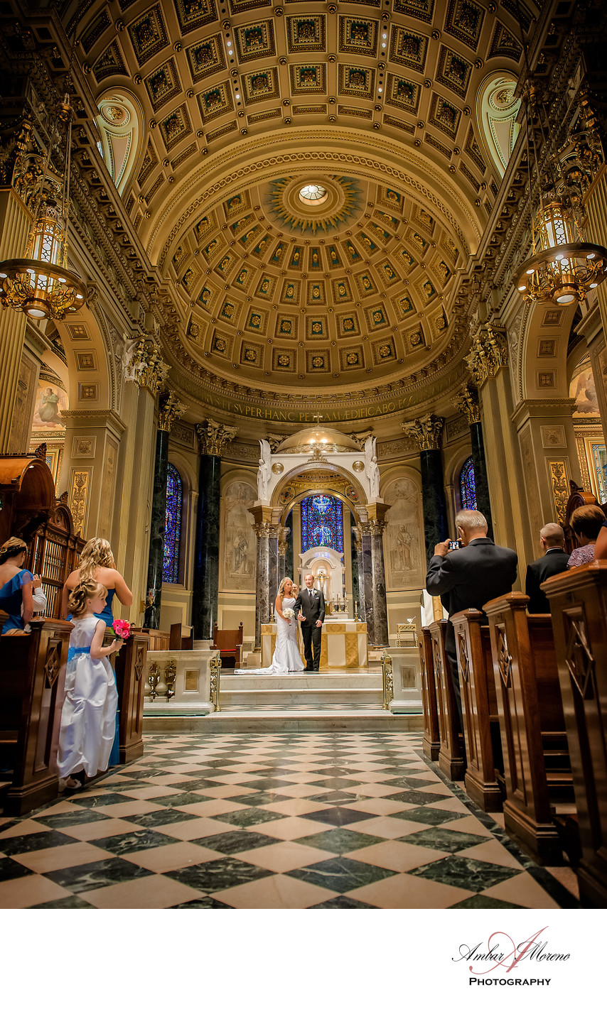 Philadelphia wedding | St Peter and Paul Basilica