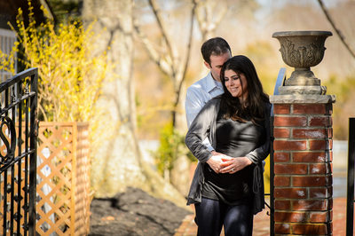 Historic Smithville Engagement Picture