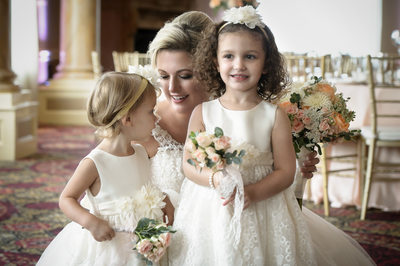 Flower Girls and Bride- Lucien's Manor