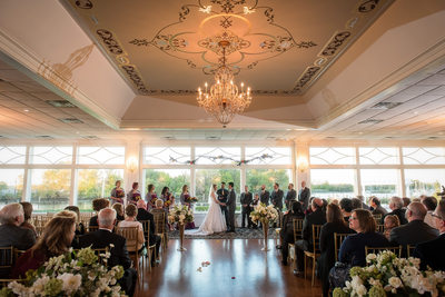 Clarks Landing Yacht Club Wedding Ceremony