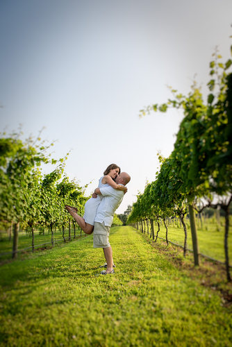 Willow Creek Winery Engagement Image