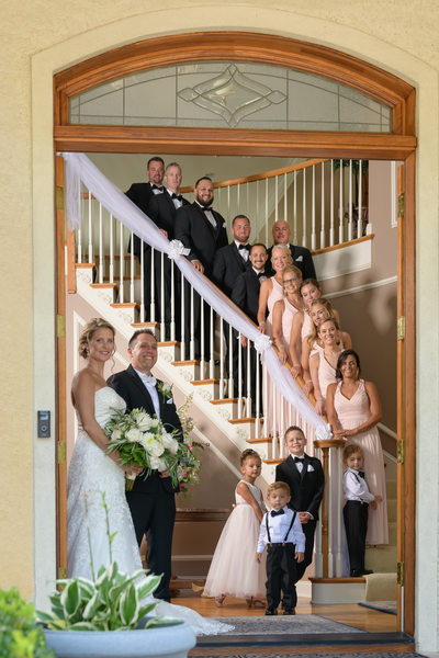 Luciens Manor Wedding Photographer-Bridal Party