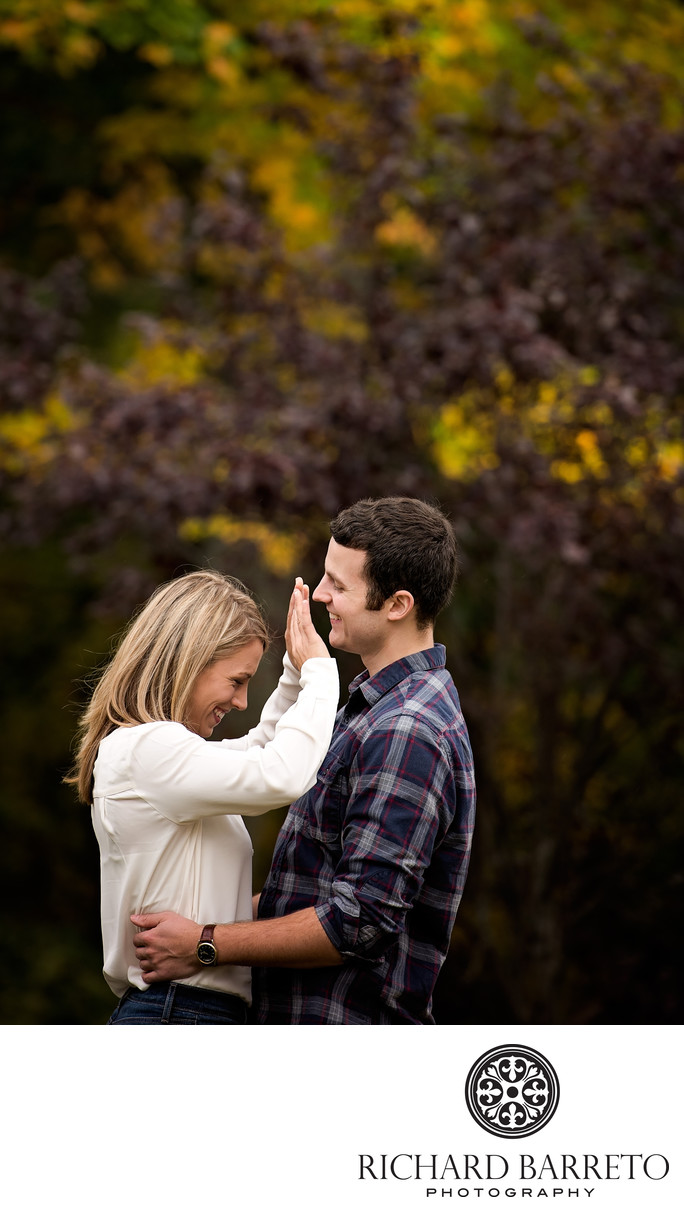 Connecticut Fall Engagement