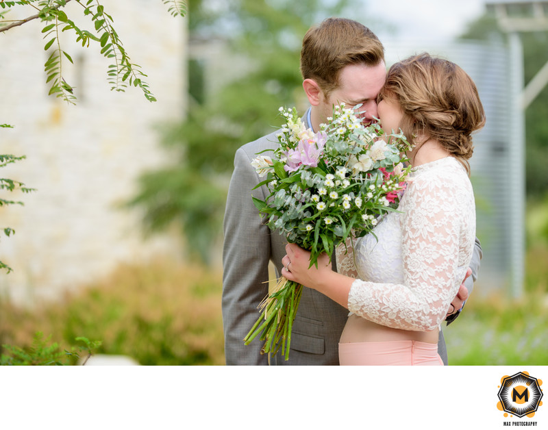 Outdoor Wedding at Ladybird Johnson Wildflower Center
