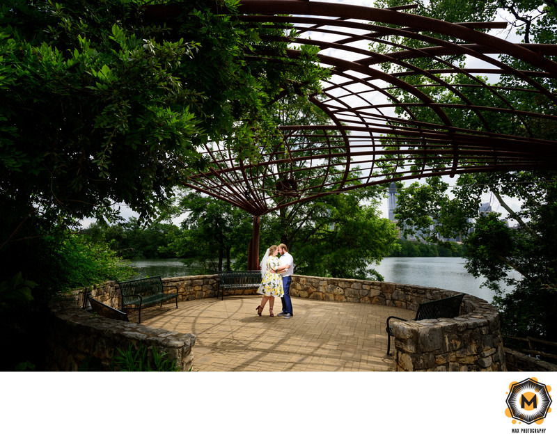 Wedding Photo at Lou Neff Point in Austin