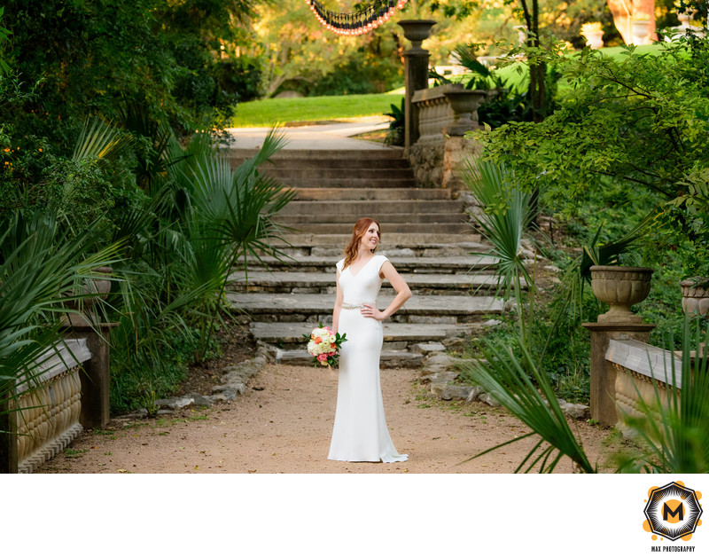 Bridal Session at Laguna Gloria in Austin, Texas