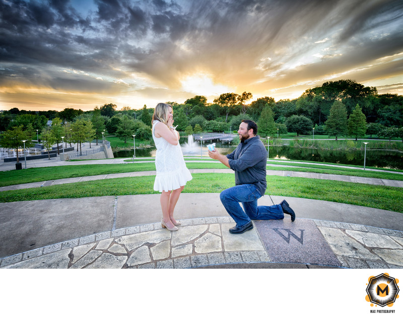 Butler Park Proposal Photographer