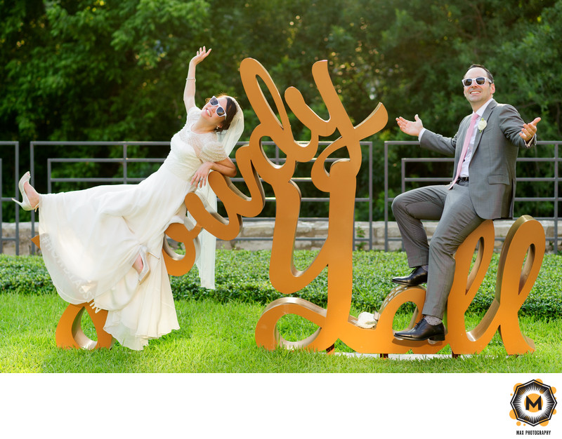 Fun and Quirky Wedding Photography in Austin #howdyyall