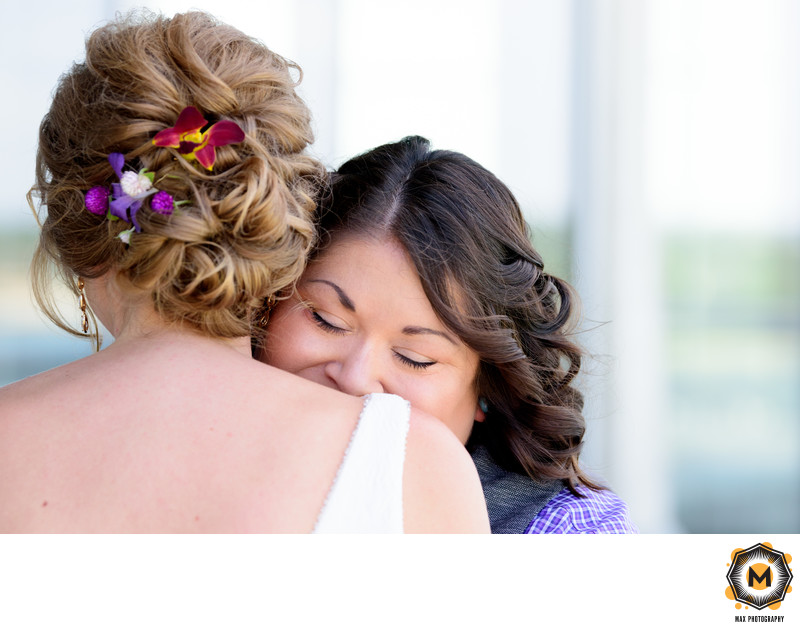 Intimate Moment Between Two Brides at Lakeway Resort