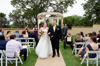 Chapel Dulcinea | Tuscan Hall Wedding Ceremony