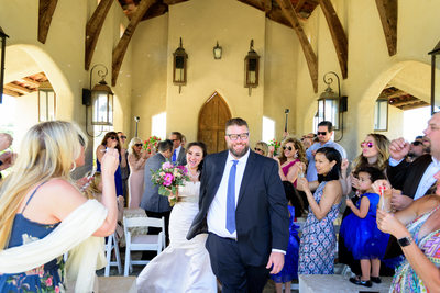 Walking Down the Aisle at Chapel Dulcinea