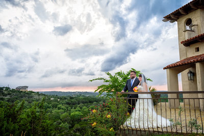 Chapel Dulcinea Sunset Wedding
