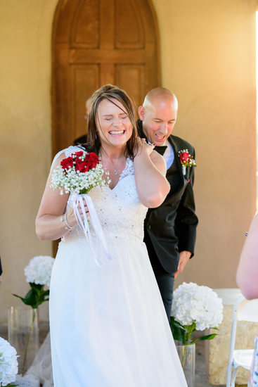 Chapel Dulcinea | Smiling Bride Walking Down Aisle