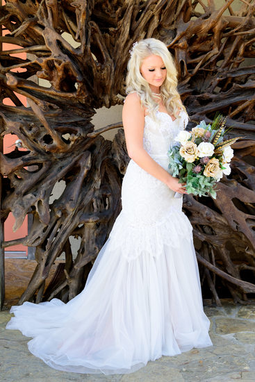 Bridal Portraits at Chapel Dulcinea