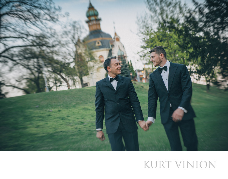 W&G post wedding portraits from their Prague session
