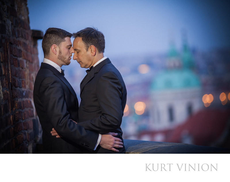 same sex lifestyle photography Prague Castle