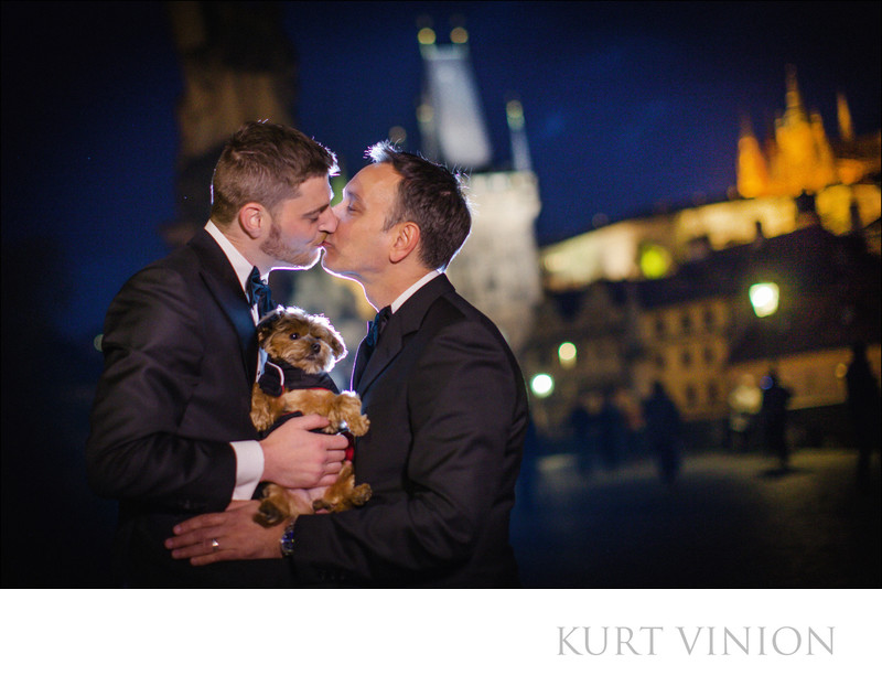 gay friendly wedding photographers Prague