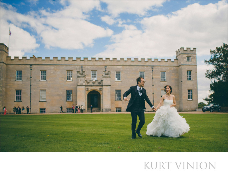 beautiful wedding pictures Syon House