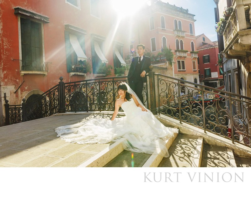 natural light pre-wedding photos Venice