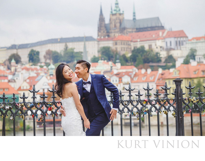overseas pre wedding photographers Prague