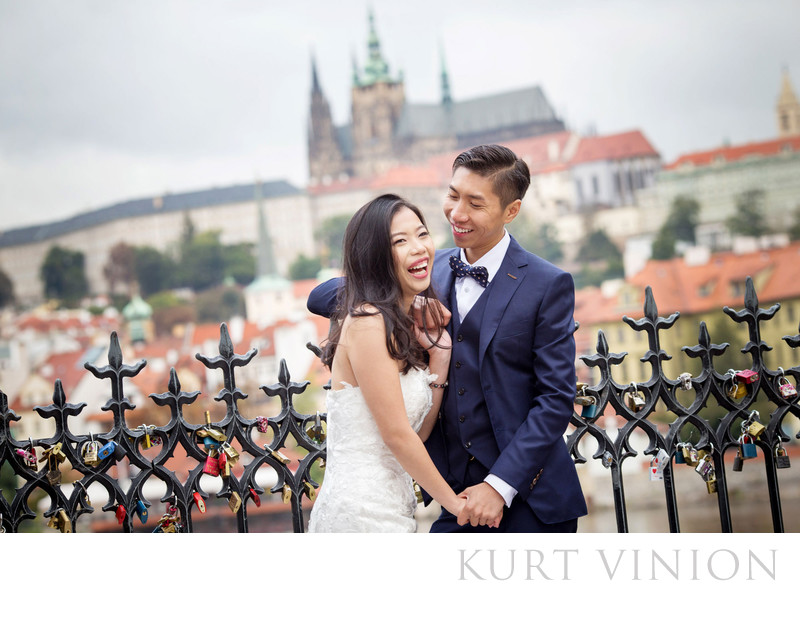 overseas pre wedding photographer Prague