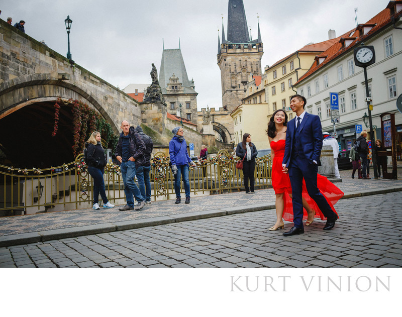 a secret marriage proposal in photos Prague