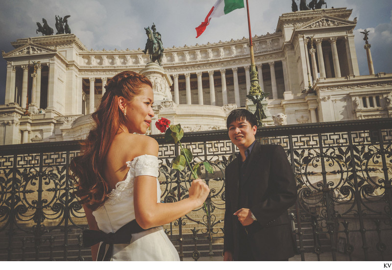 A roman love story I HM pre wedding shoot Rome