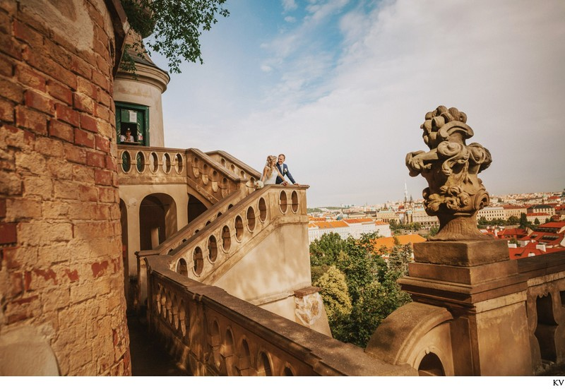 K+M (UK) Vrtba Garden destination wedding in Prague 72