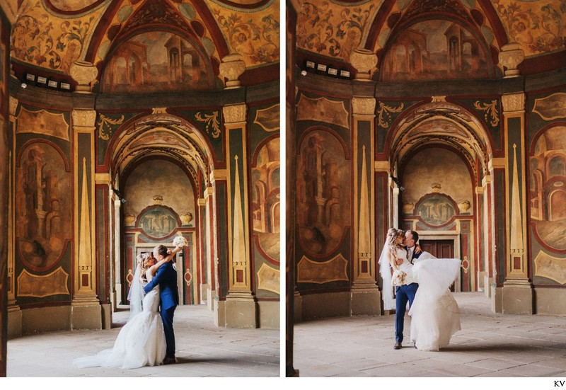 K+M (UK) Vrtba Garden destination wedding in Prague 81