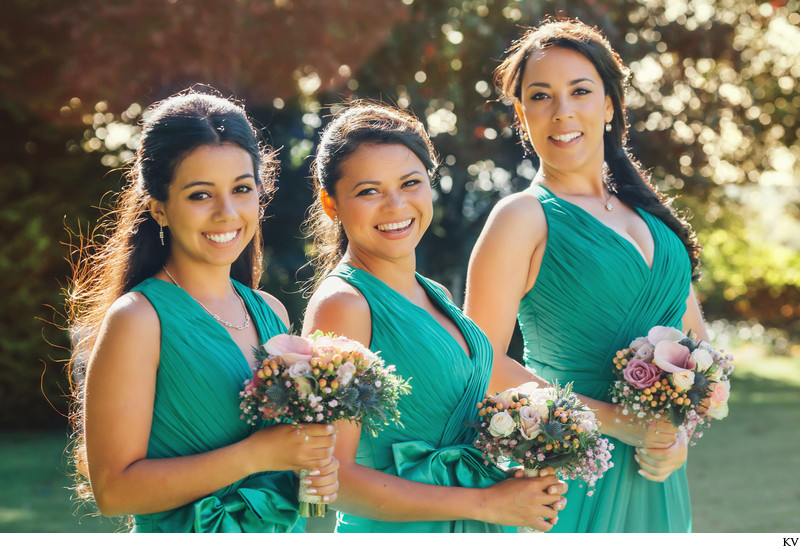 The beautiful Brazilian bridesmaid I Irish weddings