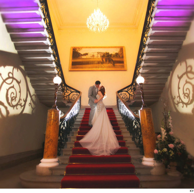 Modern wedding photography Ireland C+P Middleton House