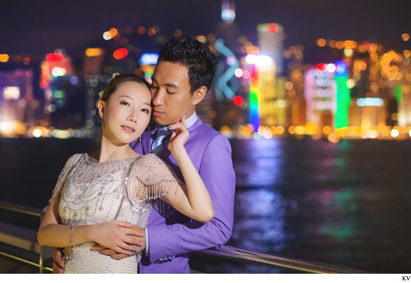 Jenny Packham dress Hong Kong luxury pre wedding