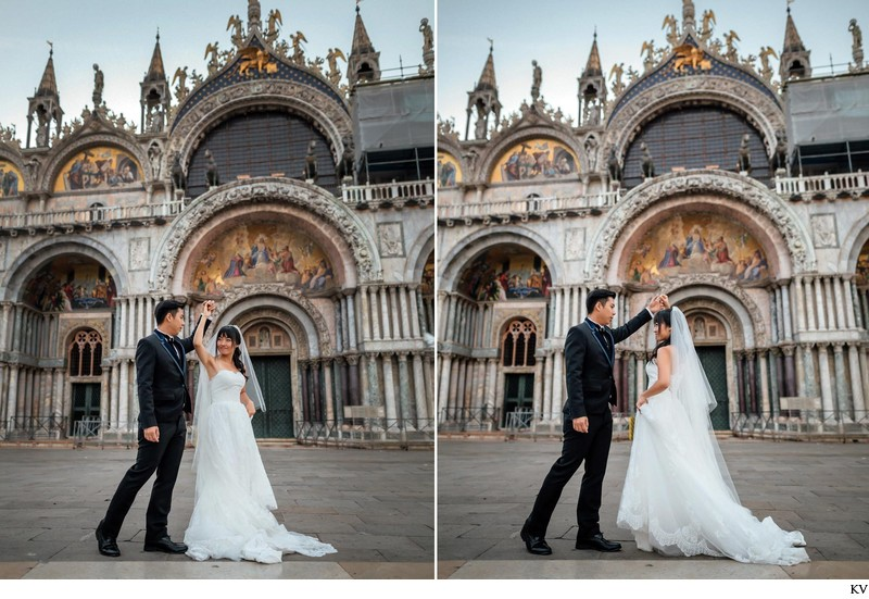 pre wedding in Venice.