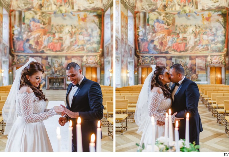 Prague destination wedding at the Troja Chateau 16