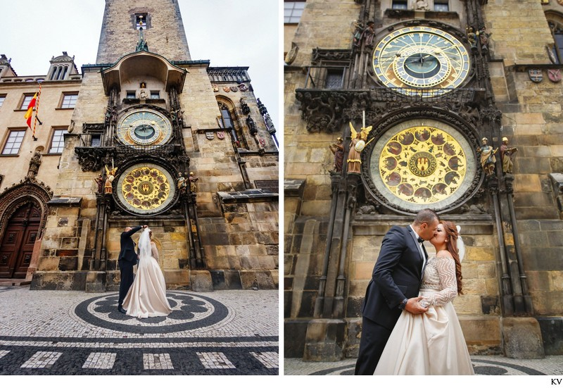 Prague destination wedding at the Troja Chateau 80