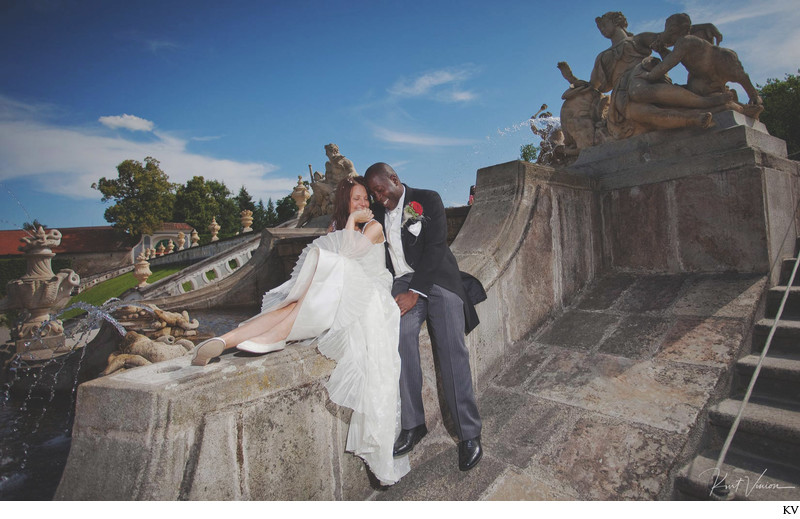 Cesky Krumlov destination wedding photos H+K (UK)