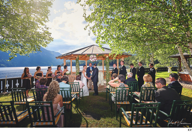 A dream wedding at Lake Eibsee Germany