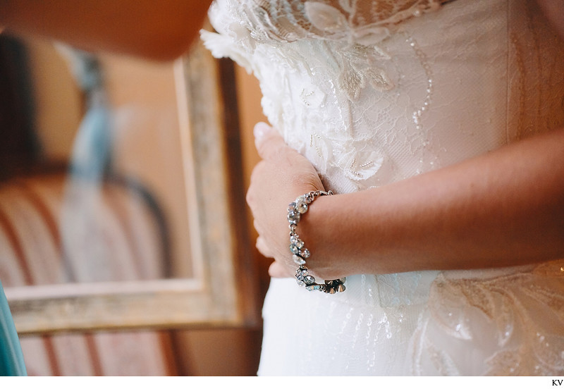 Hluboka nad Vltavou Castle wedding bride bracelet