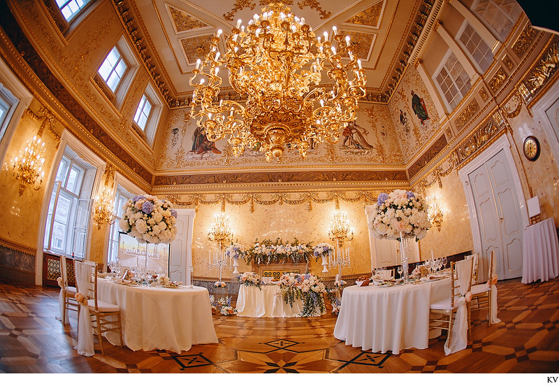 Lavish Prague weddings dinner locations Kaunicky Palace