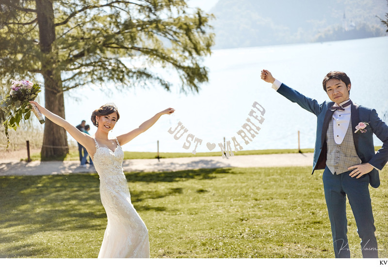 T+S Lake Bled elopement wedding