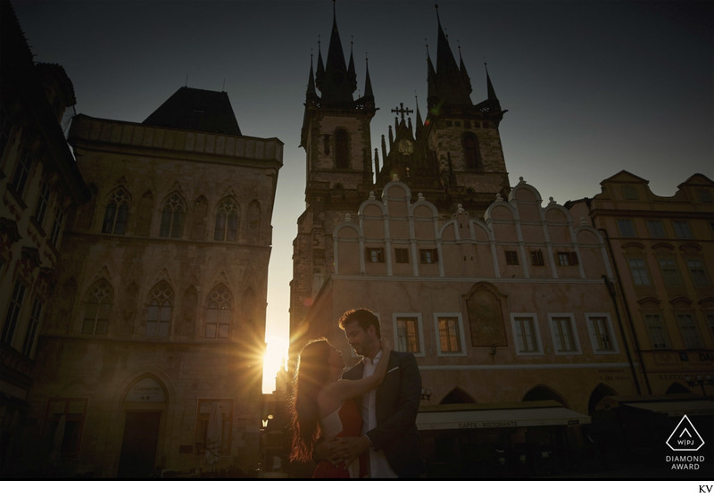 WPJA Diamond Award - Prague - Sunrise Old Town Square
