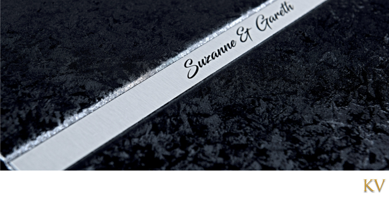 engraved name plate and cover material